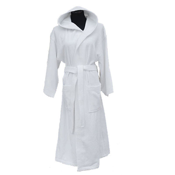 5c7f7769cd Unisex Velour Hooded Bath Robe