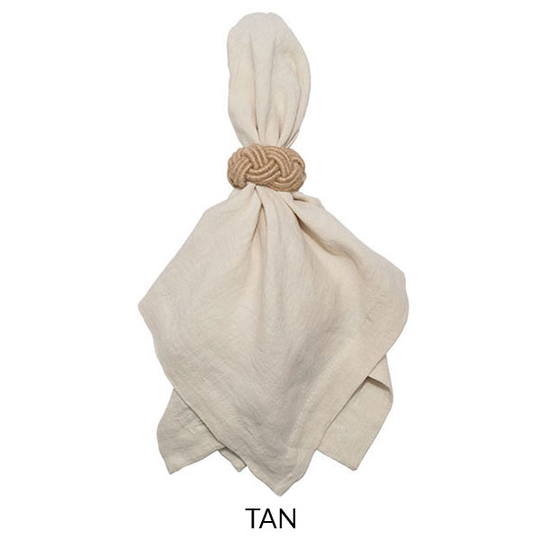 Washed Linen Napkin - Tan - Jan de Luz Linens