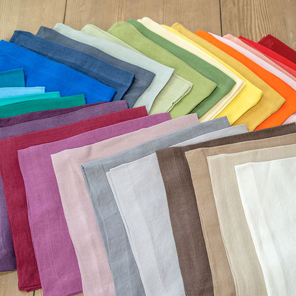Washed Linen Napkins - Washed Linen Collection - Jan de Luz Linens