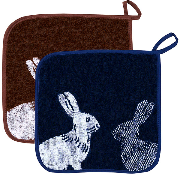 Rabbit Potholder Series